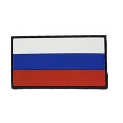 Шeврон на липучке флаг России ПВХ - фото 16926