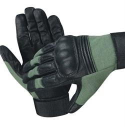 Перчатки EDGE Commando Action Olive - фото 17019