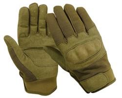 Перчатки Tactical Field олива - фото 17020