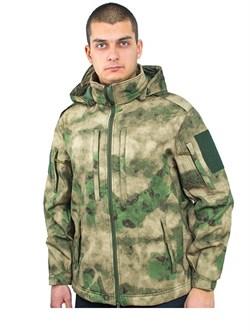 Куртка soft shell Mistral мох - фото 17087