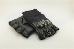 Перчатки Tac-Force 2.0 без пальцев Black - фото 17518