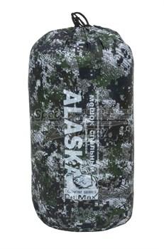 Спальный мешок Аляска Стандарт с подголовником до -5 спектр - фото 17546