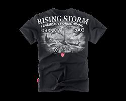 Футболка Dobermans Aggressive Rising Storm TS162 черная - фото 18093