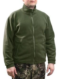 Куртка флис олива - фото 18511