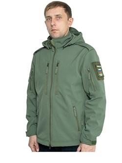 Куртка soft shell Mistral олива - фото 18580