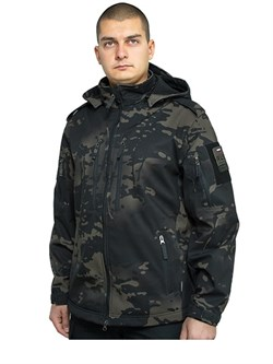 Куртка soft shell Mistral multicam black - фото 18583