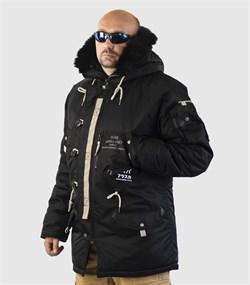 Куртка аляска Apolloget Sapporo Black - фото 18615