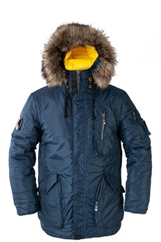 Куртка аляска Kodiak синяя - фото 18648