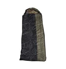 Спальный мешок Аляска Эксперт с подголовником до -20 олива-черный - фото 18960