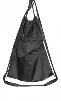 Мешок для обуви черный - фото 19129
