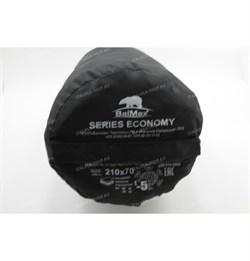 Спальный мешок Аляска Эконом с подголовником до -5 черный - фото 19685