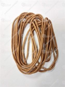 Шнурки кевларовые бежевые 180 см - фото 19755