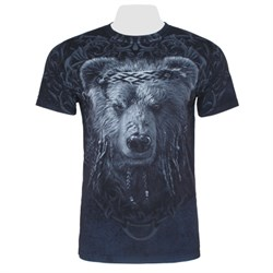 Футболка двусторонняя Мудрый медведь - фото 20296