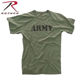 Футболка Vintage Army Olive - фото 20303