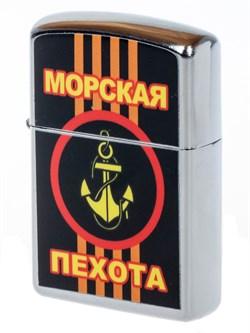 Зажигалка бензиновая Морская пехота - фото 20329