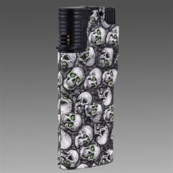 Зажигалка газовая турбо байкерская - фото 20348