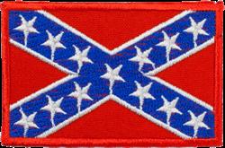 Шеврон на липучке Флаг Конфедерации - фото 20766