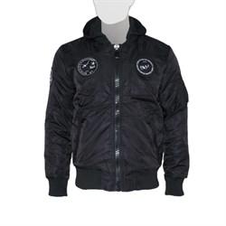 Куртка MA-1 Hooded Airborne Black - фото 20898