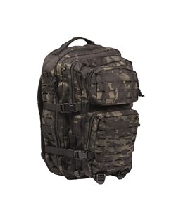 Рюкзак US Laser Cut Assault Pack Large Multicam Black - фото 20903