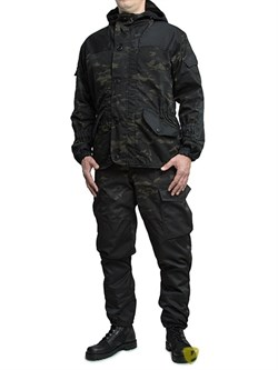 Костюм Горка-3 флис на молнии Multicam Black - фото 21055