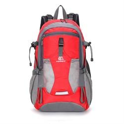 Рюкзак туристический Weikani 40л красный - фото 21142