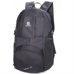 Рюкзак складной Weikani 20л черный - фото 21171