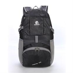 Рюкзак складной Weikani 35л темно-серый - фото 21178