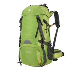 Рюкзак туристический Weikani 50+10л зеленый - фото 21183