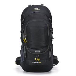 Рюкзак туристический Weikani 60л черный - фото 21199