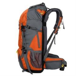 Рюкзак туристический Weikani 45+5л оранжевый - фото 21216