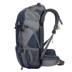 Рюкзак туристический Weikani 45+5л синий - фото 21222