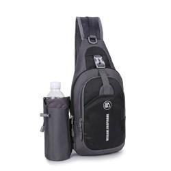 Сумка Weikani Jingpinbag 4,5л с подсумком для бутылки черный - фото 21244