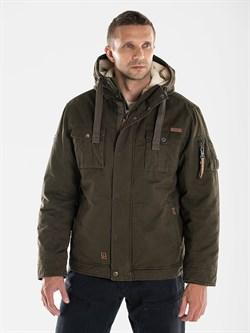Куртка утепленная COZY Short Jacket 321 темно-оливковый - фото 21301