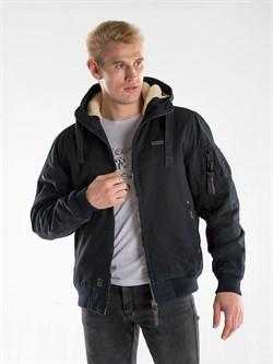 Куртка утепленная Waterproof Bomber Jacket 421 темно-синий - фото 21319