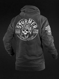 Толстовка с капюшоном Sturmer Anniversary черная - фото 21501