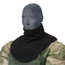 Шарф-нагрудник флис черный - фото 21528