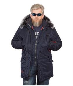 Куртка аляска Apolloget Arctic Fleece Night Sky - фото 21683
