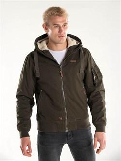 Куртка утепленная Cotton lx Bomber Jacket 421 темно-оливковый - UNIFORM59.RU - одежда в стиле милитари