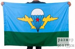 Флаг ВДВ с белым куполом - фото 22401