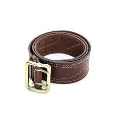 Ремень портупейный коричневый - фото 23152