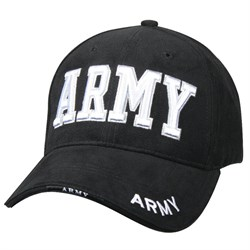 Кепка бейсболка Deluxe Army Black - фото 23434