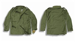 Куртка M-65 Alpha Field Jacket Olive - фото 5289