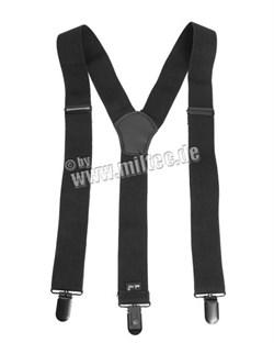 Подтяжки Y-образные черные - фото 6013
