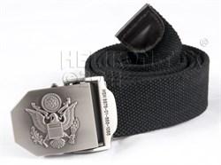 Ремень брючный US Army Black - фото 6026