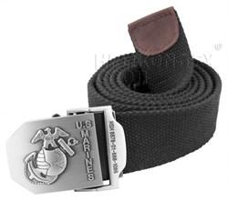 Ремень брючный US Marines Black - фото 6027