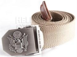 Ремень брючный US Army Khaki - фото 6028
