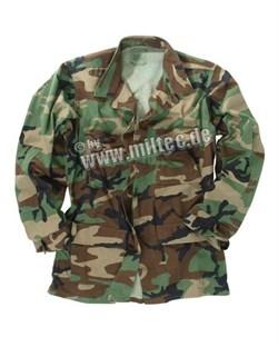Куртка US BDU woodland б/у - фото 6041