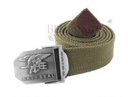 Ремень брючный US Navy Seals Olive - фото 6089