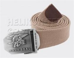 Ремень брючный US Navy Seals Khaki - фото 6090