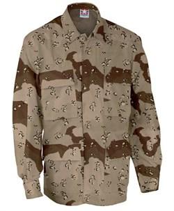 Куртка US BDU 6-color desert с хранения - фото 6124